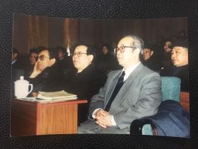 老照片:著名美学家、山东大学原校长曾繁仁