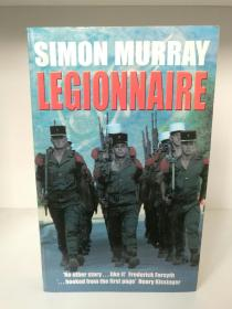 签名本 法国外籍兵团:英国籍雇佣兵亲历记  Legionnaire:The Real Life Story of an Englishman in the French Foreign Legion by Simon Murray (Pan Books 版)(法国)英文原版书