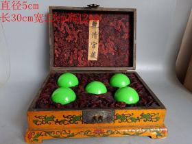 乡下收的清代乾清宫漆器盒夜明珠