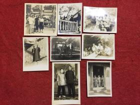 老照片八张合售