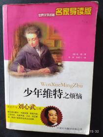 世界文学名著名家导读版---少年维特之烦恼