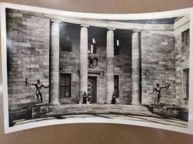 老 明信片 德国 纳粹 总理府 1939年 实寄 万字 鹰 邮戳