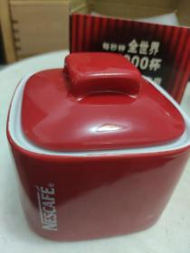 2005雀巢专用方口红糖罐 主题限量珍藏版