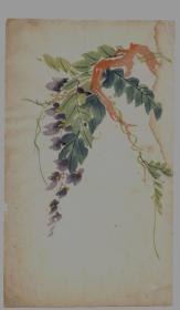 民国木版水印花笺纸:多色套印花卉笺(4)