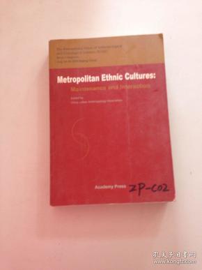 metropolitan ethnic cultures   都市民族文化