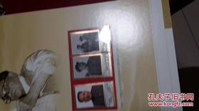 新华通讯社建设八十周年 珍邮典藏 孔夫子孤本 皮面精装刷金边巨厚册 内带29套邮票4封首日封