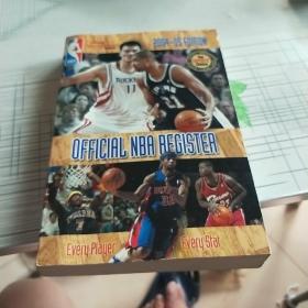 OFFICIAL  NBA  REGISTER 2004——05  EDITION
