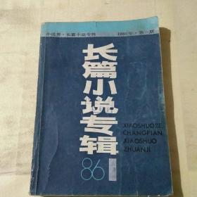 小说界·长篇小说专辑 1986 1  第一期  394页