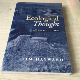 Ecological thought an introduction ecology introducing  ecology philosophy of nature thoughts 生态思想导论 英文原版