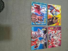 超能家族 拼图卡片