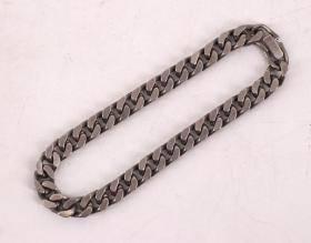 《鎏铂金男式大型手链一条》制作精美 链长22CM 宽0.6CM 重27克