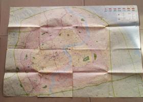 无锡市交通旅游图2005和上海城区交通图2008版