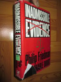 INADMISSIBLE EVIDENCE   【详见图】