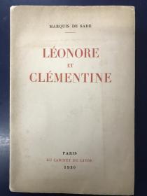 法文原版小说  含Luc Lafnet 卢克·拉夫内特5幅蚀刻版情色插图 1930年法国出版 稀少书籍