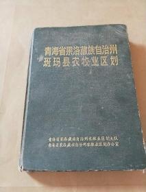青海省果洛藏族自治州班玛县农牧业区划