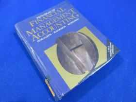Principles Finacial & Management Accounting/HORNGREN·HARRISON·ROBINSON/PRENTICE HALL Englewood/printed in the United States of America/about 1200 pages