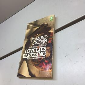 英文原版 love lies bleeding edmund crispin