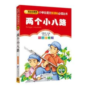 两个小八路彩图注音版 李心田,刘敬余 正版 9787552223477 书店