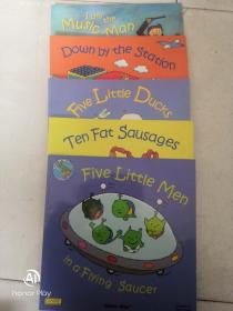 Ten Fat Sausages/Five Little Ducks/Five Little Men/Down By the Station/I am the Music Man(英文原版5册合售)