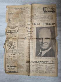 LONG BEACH PRESS TELEGRAM 1932年印 包邮挂刷