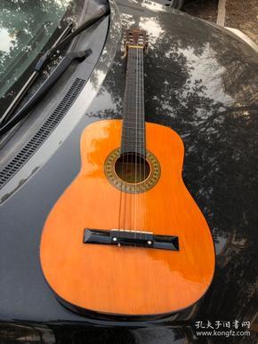 老吉他,老吉他正宗的老木吉他,紅棉牌,品相如圖