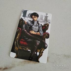 进击的巨人 动漫周边彩色人物卡片(20枚/组)+信封赏包装(第D组)