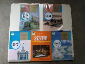 初三九年级下册人教版语数物化历史课本全套5本-(物理)沪粤版