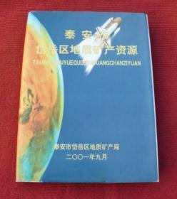 泰安市岱岳区地质矿产资源--硬精装--正版书--70