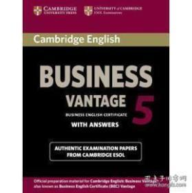 Cambridge English Business 5 Higher Self-Study Pack (Students Book with Answers and Audio CD)