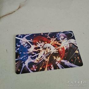 灼眼的夏娜 动漫周边彩色人物卡片(20枚/组)+信封赏包装(第八组)