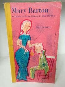 伊丽莎白·盖斯凯尔:玛丽巴顿 Mary Barton by Elizabeth Gaskell (英国文学经典)  英文原版书
