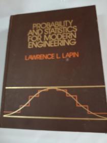 英文原版 PROBABILITY AND STATISTICS FOR MODERN ENGINEERING  现代工程概率统计