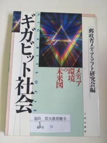 日文原版:ギガビツト社会   32开