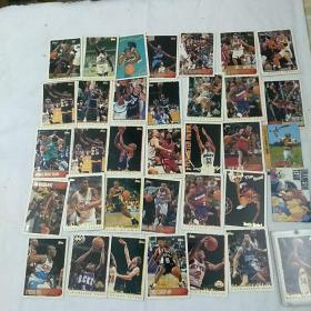 篮球明星卡片(32张)合出售