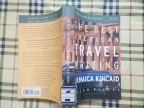 THE BEST AMERICAN TRAVL WRITING2005