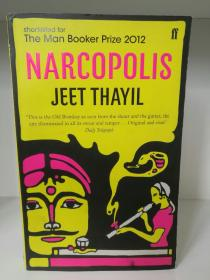 Narcopolis by Jeet Thayil (印度文学)英文原版书