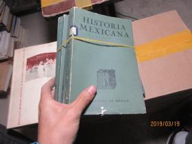 HISTORIA MEXICANA 92+95+96+98+99  2470