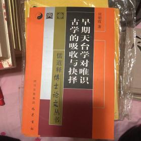 早期天台学对唯识古学的吸收与抉择——儒道释博士论文丛书