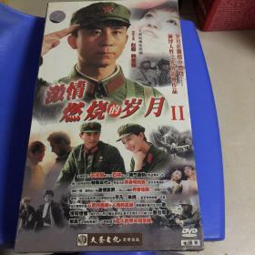 电视连续剧DVD,[激情燃烧的岁月II],大圣文化出品[十碟装],全新未开封