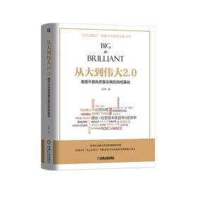 从大到伟大2.0:重塑中国高质量发展的微观基础【精装】