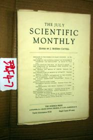 SCIENTIFIC MONTHLY 科学月刊1933年7月 多图片