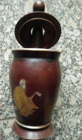 GZ1097精品捣药罐精品铜捣药罐 仿古纯铜捣药罐