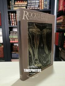 Rockwell Kent An Anthology of his works 《肯特作品集》1982 年 KNOPF出版 布面精装 8开本 精美的艺术画册