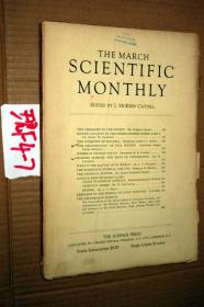 SCIENTIFIC MONTHLY 科学月刊1934年3月 多图片