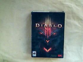 外文原版; The Art of Diablo 盒装【含光盘1张 手册和笔记本各1本 卡片4张 】