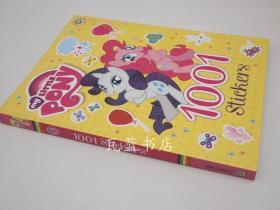 小马宝莉1001贴纸游戏故事练习册 My Little Pony: 1001 Stickers