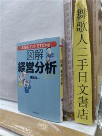 图解 经营分析 石岛洋一 PHP文库 日文原版64开综合书