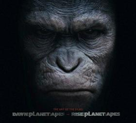 Dawn of Planet of the Apes and  Rise of the Planet of the Apes : The Art of the Films(略带塑封)
