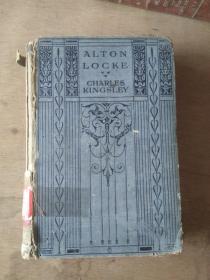 Alton Locke 1920年版 馆藏书 英文原版