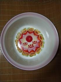 文革忠字搪瓷盆(直径40公分)